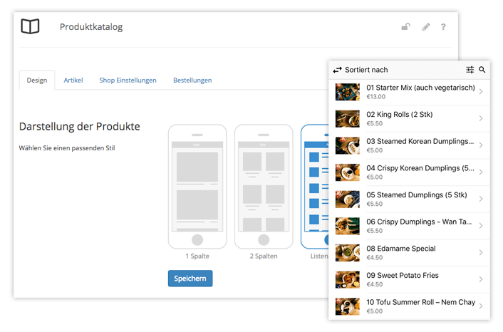 Ready-to-use modules of the app platform