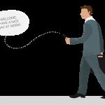 Mitarbeiter Apps sorgen für einen Informationsaustausch zwischen Unternehmen und Mitarbeitern