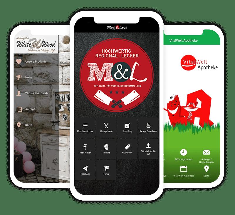 Eigene App für Einzelhändler und Restaurants durch die Corona-Krise