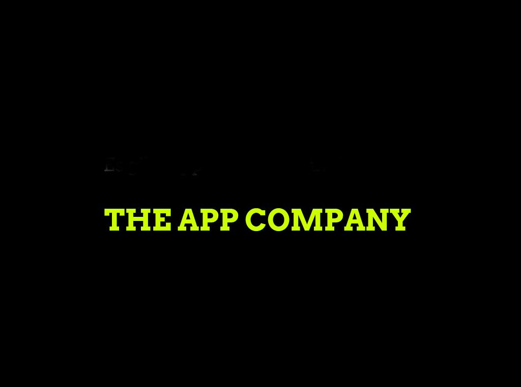 Die App Agentur THE APP COMPANY für die App Entwicklung von komplett individuellen Apps