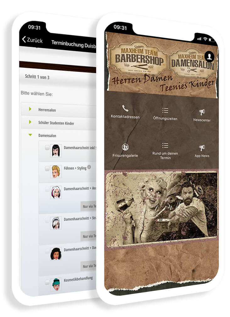 The industry app for hairdressers and salons