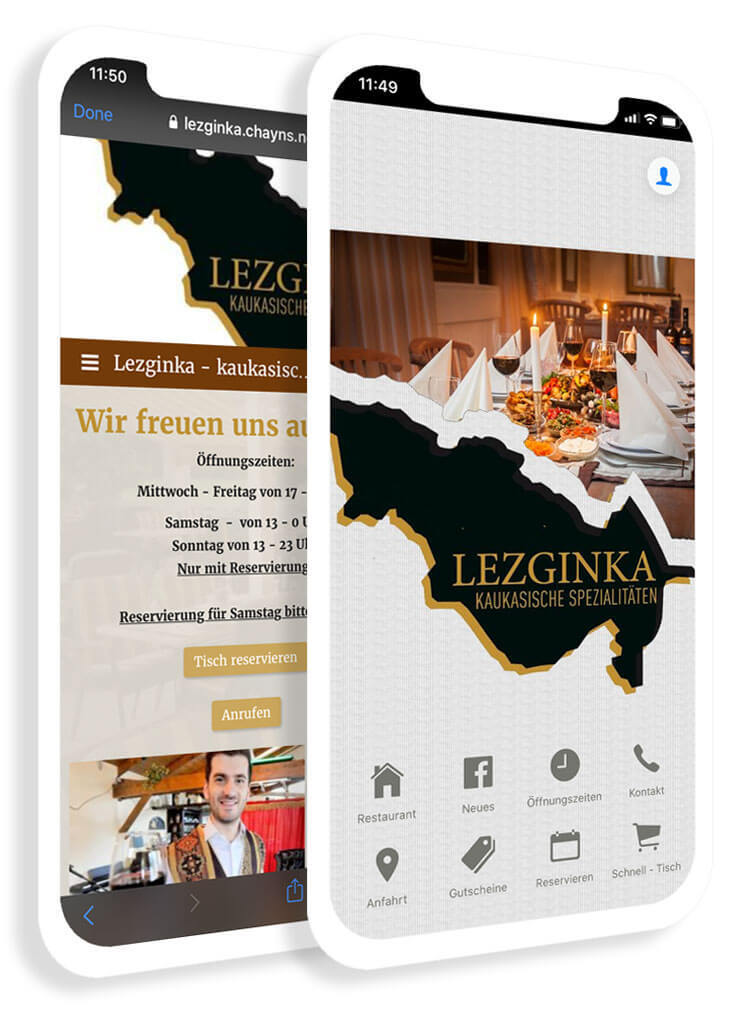 The industry app for gastronomy