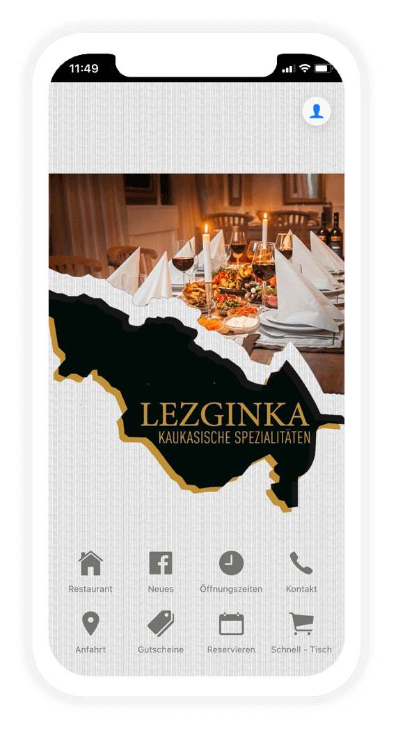 Gastronomie App erstellen für Dein Restaurant, Deine Bar oder Dein Bistro