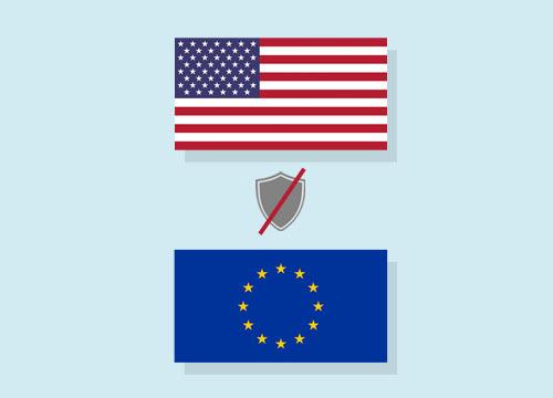 The ECJ declares the EU-US Data Privacy Shield as invalid