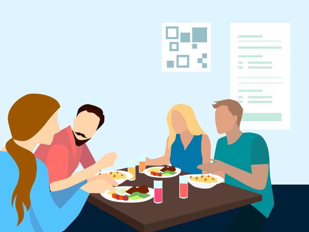 Mit der Gastro App kontaktlos einen Tisch reservieren und seine Kontaktdaten hinterlegen