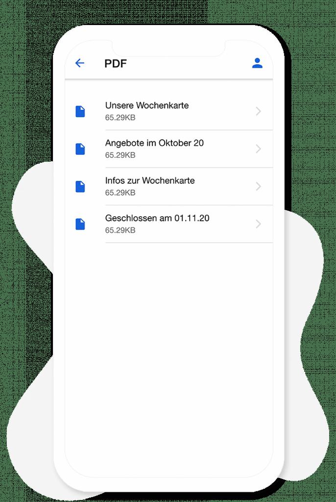 Das PDF Modul vom App Baukasten