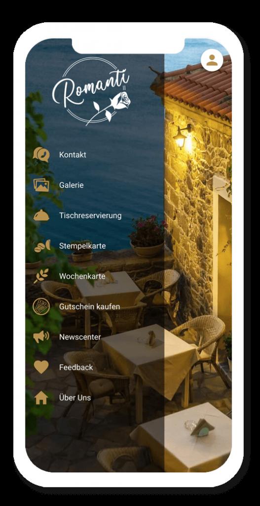 Das Listen Layout im App Baukasten
