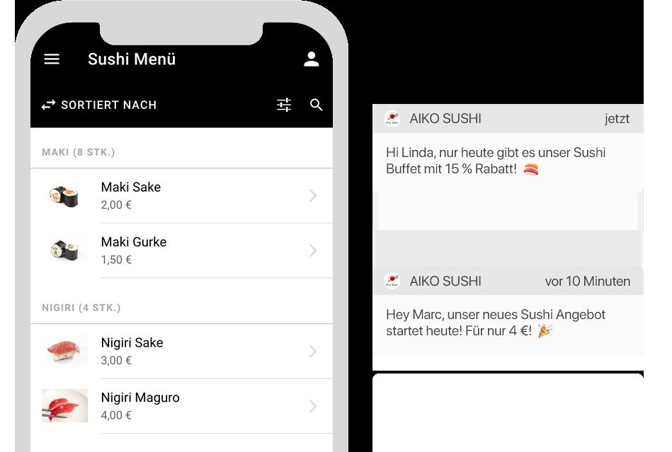 Die digitale Speisekarte als Lösung der AYS Gastro Apps