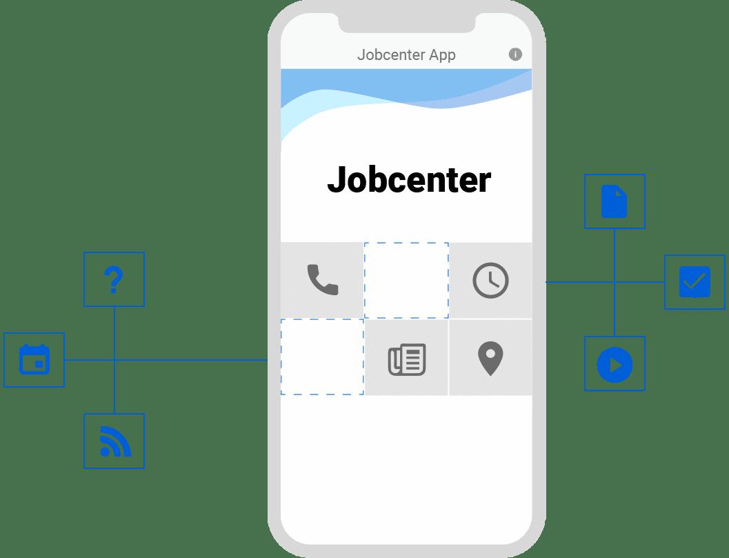 Die Jobcenter App ist für Ihr Jobcenter einsatzbereit