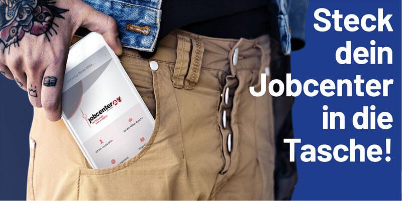 Jobcenter App - Berlin Mitte - Steck dein Jobcenter in die Tasche