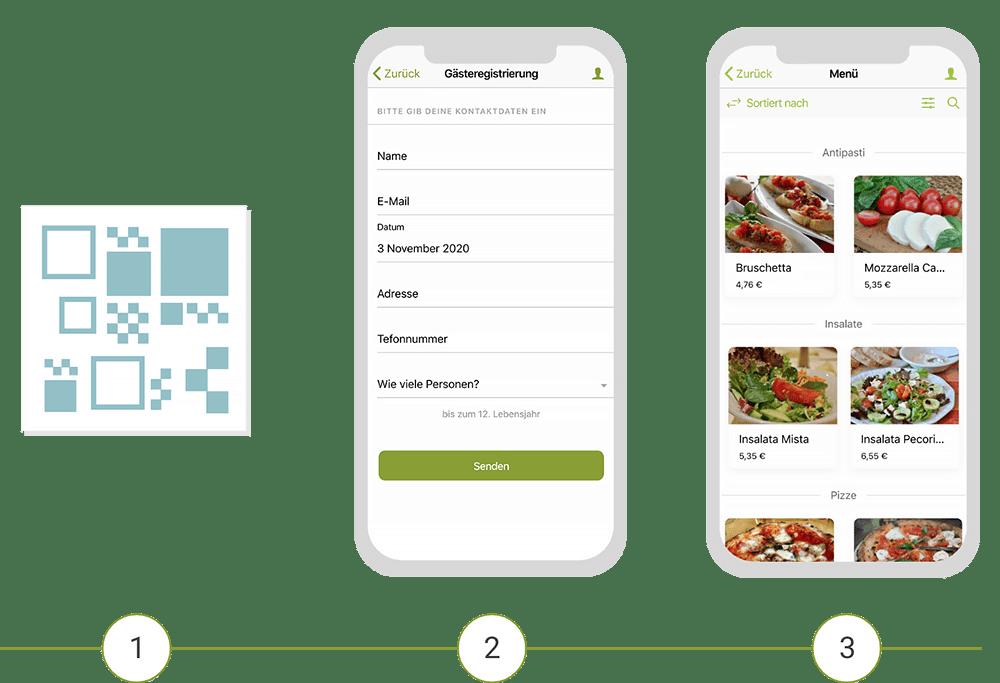 Digitaler Check-in via App