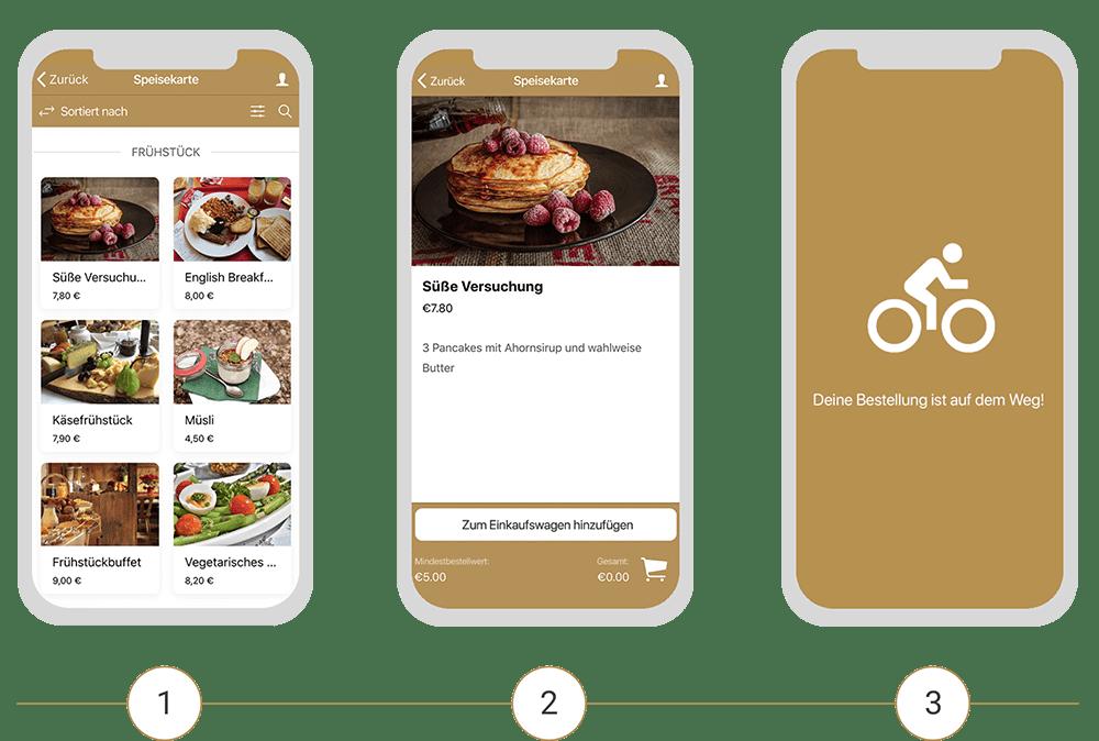 Die Lieferservice App als Teil der AYS Gastro Apps