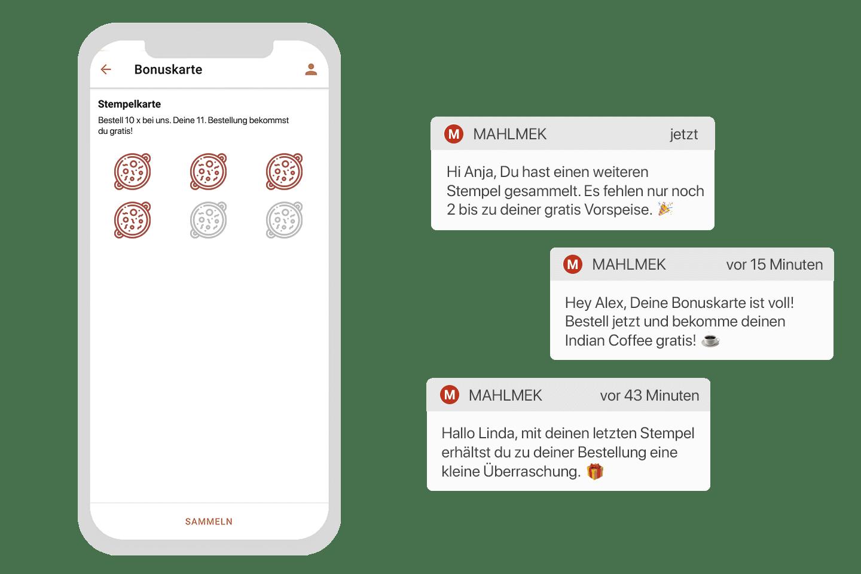 Die digitale Stempelkarte als Teil der Gastro App