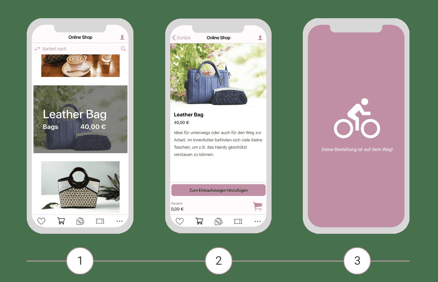 Die Retail App kann auch als reine Shopping App verwendet werden