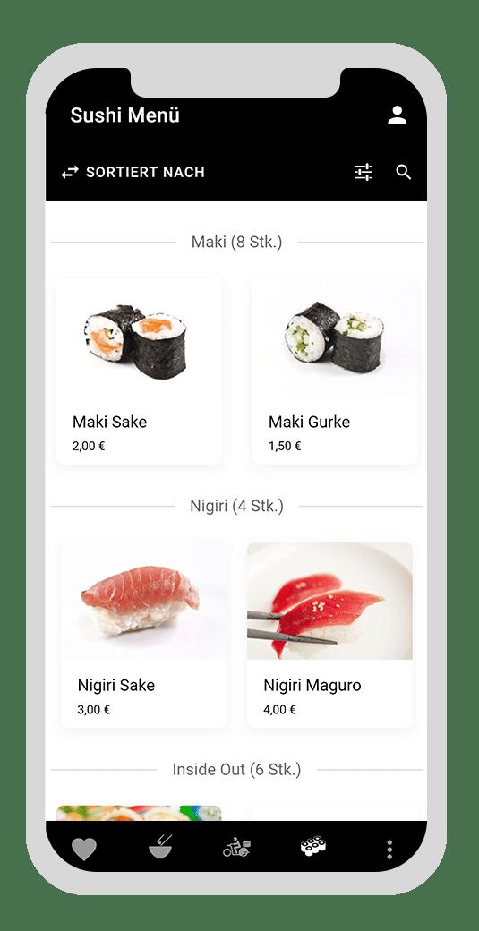 Die Digitalisierung der Gastronomie dank digitaler Speisekarte