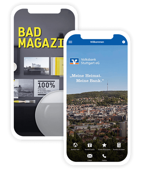 App erstellen und mobile Kundenbindung anbieten