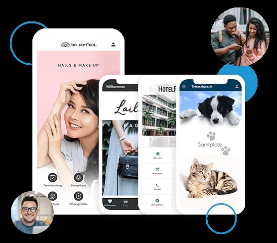 Als Reseller erstellen Sie mobile Apps für Ihre Kunden