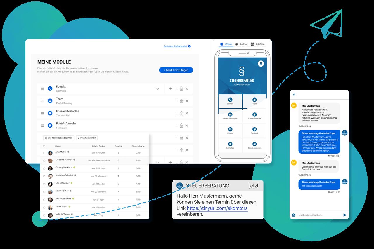 Vom App-Baukasten zur App-Plattform: die Story von AppYourself